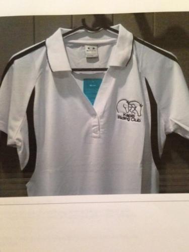 T-shirt - $38 (White or blue)